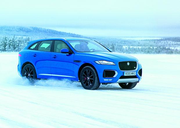 Jaguar F-Pace na ledu aneb José Mourinho se nudí (+video)