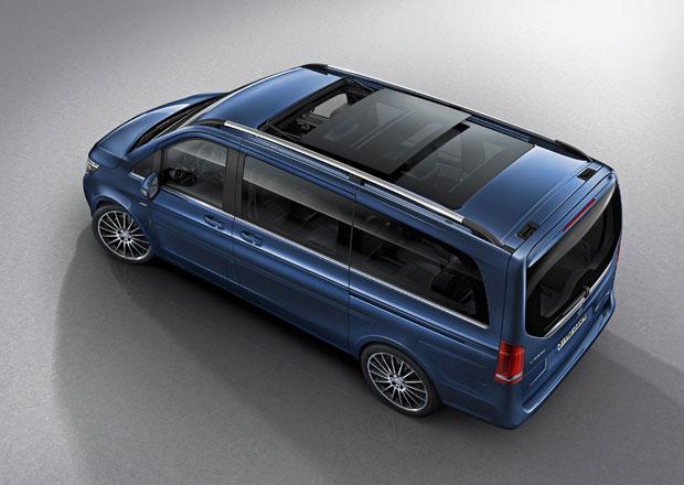 Mercedes-Benz V dostal vrcholné provedení Exclusive