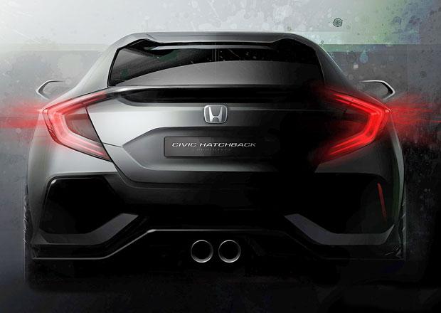 Honda v Ženevě: Koncept nového Civicu hatchback a vodíkové Clarity