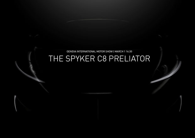 Spyker p�iveze do �enevy model C8 Preliator