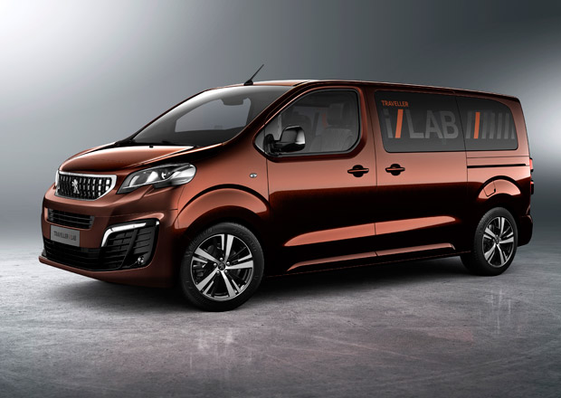 peugeot traveller i lab je koncept luxusn dod vky pro vip klienty. Black Bedroom Furniture Sets. Home Design Ideas