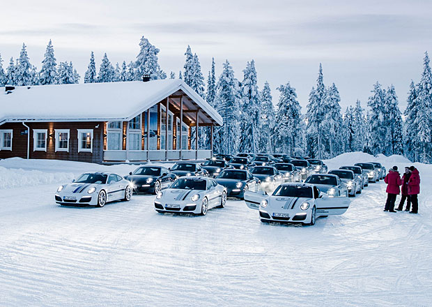 Na vlastní kůži: S Porsche za polárním kruhem
