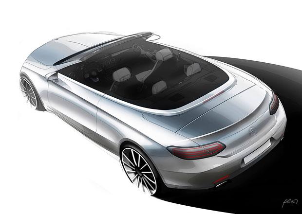 Mercedes-Benz C Cabrio: Prvn� ofici�ln� skica je venku!