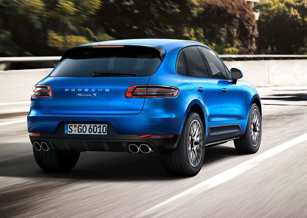 Porsche Macan Diesel: Naf��k m� v Americe i nad�le stopku