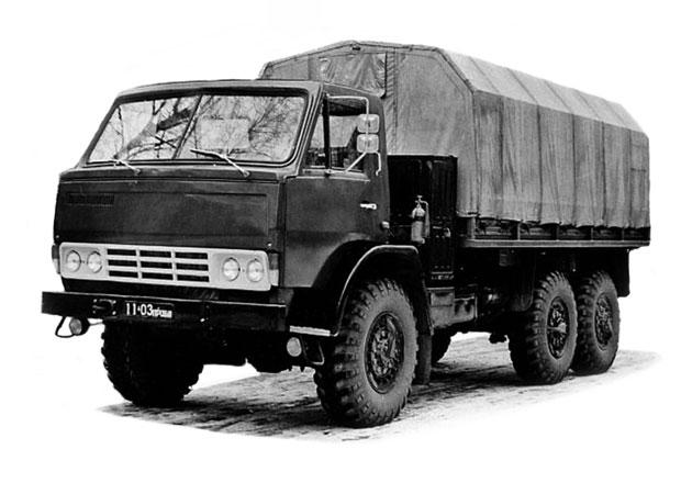 Před čtyřiceti lety byl vyroben první nákladní automobil Kamaz
