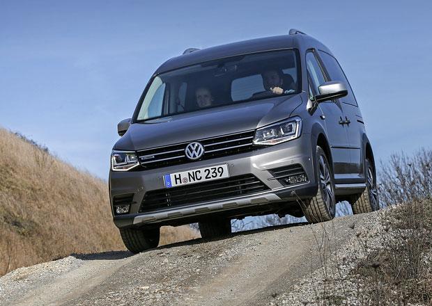 J�zdn� dojmy: Volkswagen Caddy Alltrack 4Motion. Jak� je top verze?