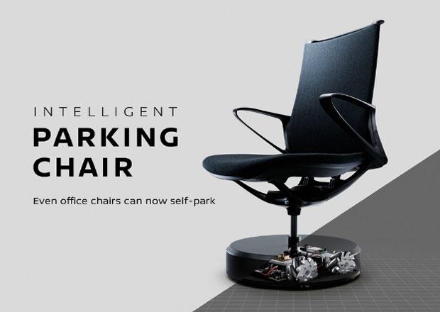 Nissan Parking Chair: Když se Japonci nudí