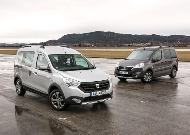 Dacia Dokker Stepway vs. Peugeot Partner Tepee Outdoor
