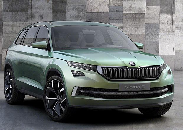 Studie nového SUV Škoda VisionS je hybridní čtyřkolka