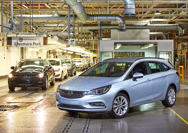 Opel zahájil v Anglii sériovou výrobu nové Astry Sports Tourer