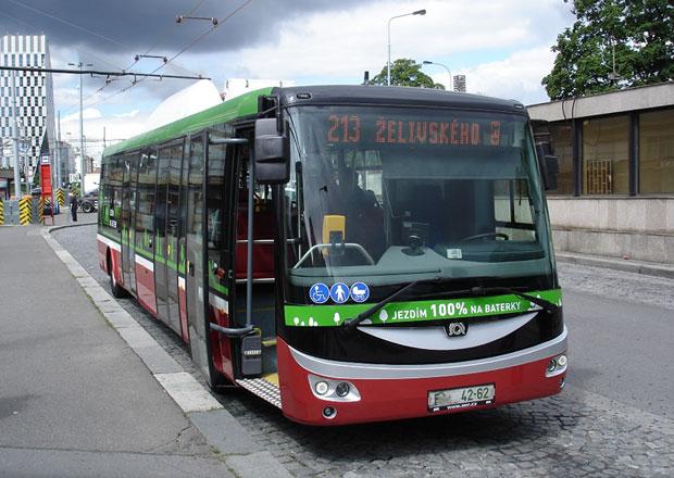 Elektrobus SOR EBN 11 a jeho testování v Praze