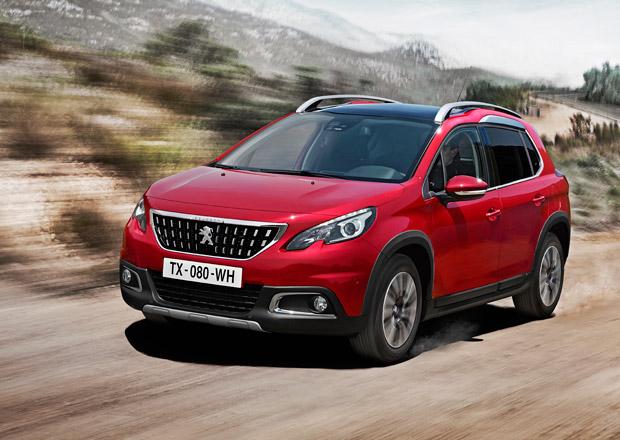 Peugeot 2008: Osvěžení vzhledu i rozšíření výbavy