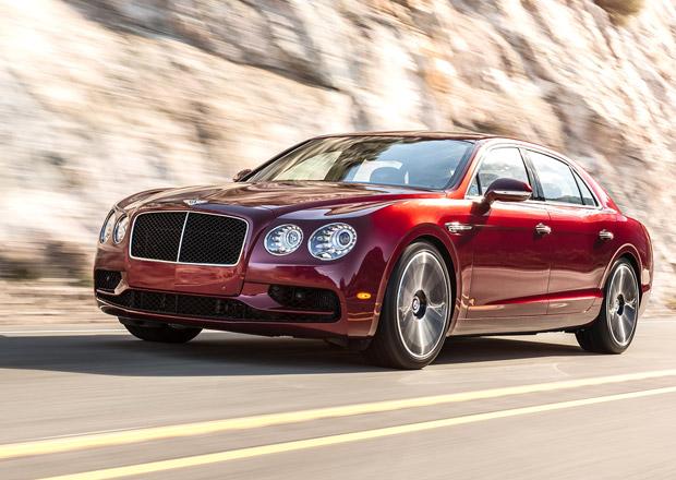 Bentley Flying Spur V8 S: Nový střed nabídky