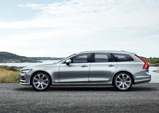 Volvo V90 ofici�ln�: Tradice velk�ch kombi ze �v�dska neum�r�
