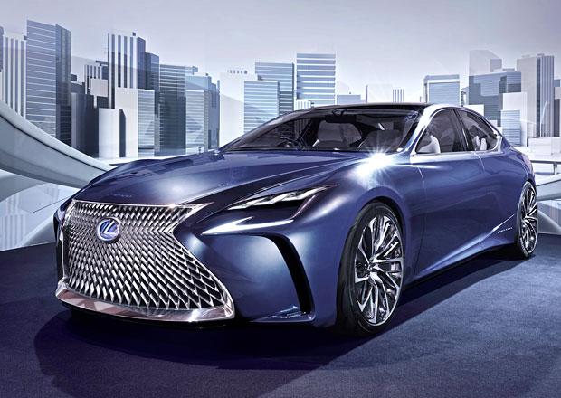 Budoucnost Lexusu: Nové LS a palivové články, plug-in hybrid prý nemá smysl