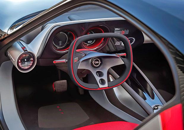 Opel GT Concept odhaluje svůj atraktivní interiér