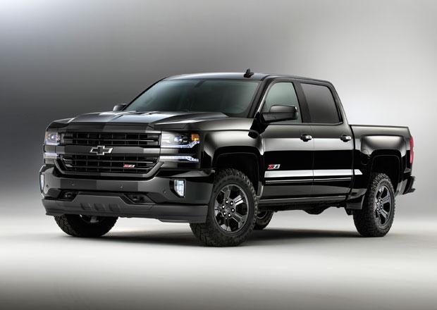 Chevrolet Colorado a Silverado Midnight Edition sází na černou (+video)
