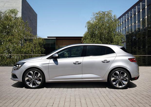 Nový Renault Mégane odhaluje kompletní ceník, ceny začínají na 339.900 Kč