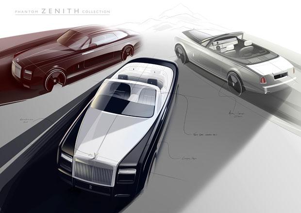 Rolls-Royce Phantom letos skončí, kupé a kabriolet zůstanou bez nástupců
