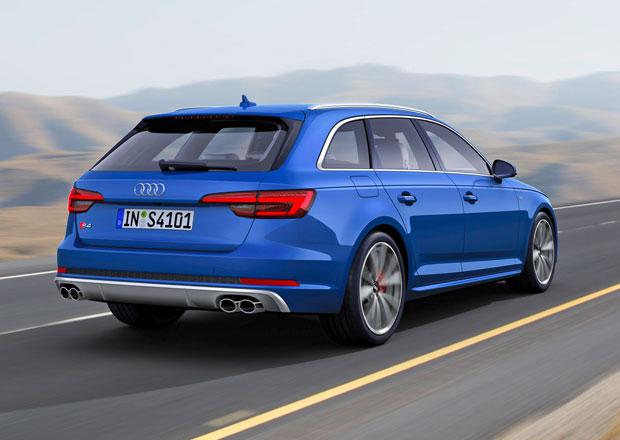 Audi S4 Avant: Vrcholné kombi pohání šestiválec 3.0 TFSI (260 kW)