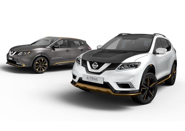 Nissan Qashqai a X-Trail Premium Concept: Více stylu a luxusu