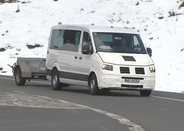 Volkswagen za�ne letos prod�vat nov� Crafter, vyv�j� ho bez Mercedesu
