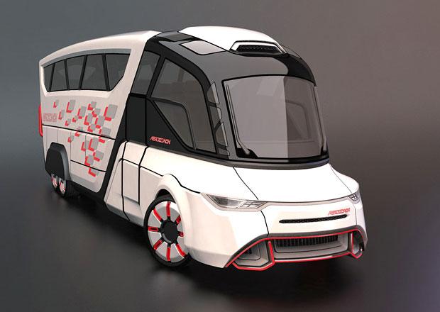 Aerocoach: Vize budoucnosti autobusové dopravy