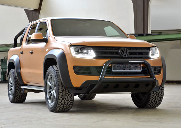 Volkswagen Amarok V8 Desert Passion: Výkon a luxus pro pick-up