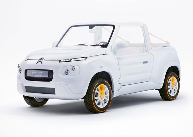 Citroën E-Mehari styled by Courrèges: Plážový elegán (+video)