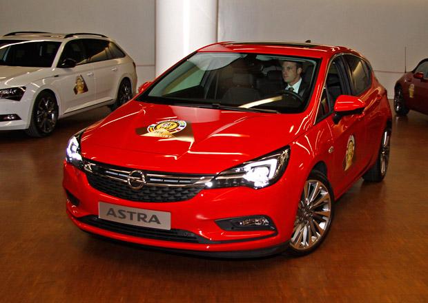 Evropským Autem roku 2016 je Opel Astra, ceremoniál jsme sledovali živě