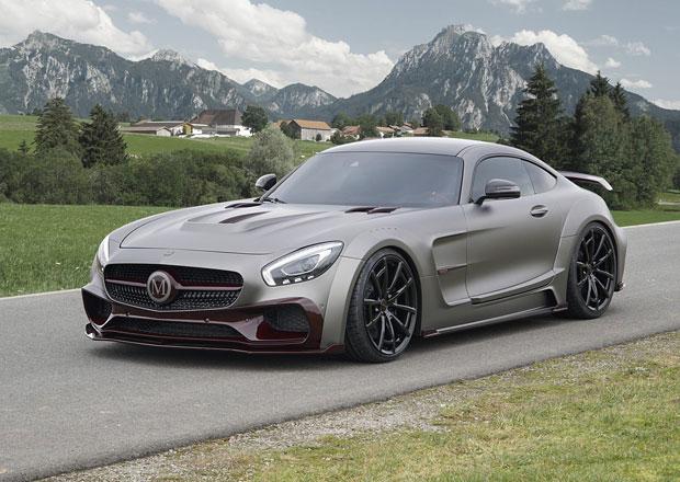 Mercedes-AMG GT S a po��dn� porce agresivity
