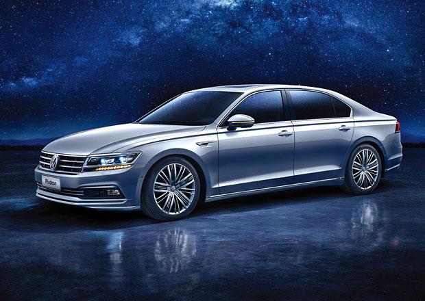 Volkswagen Phideon: Nov� vlajkov� lo� jen pro ��nu