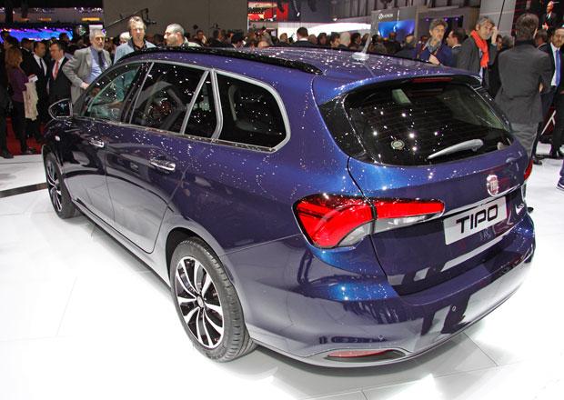 Fiat Tipo: Sedan dopl�uj� hatchback a kombi