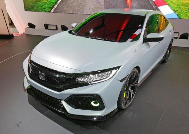 Honda Civic Hatchback Prototype: P�tidve�ov� des�tka