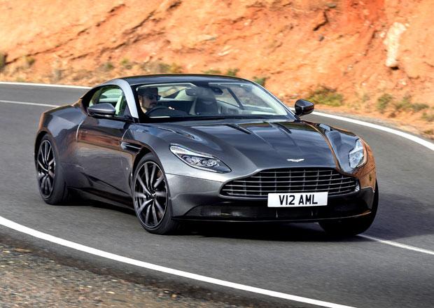 Aston Martin DB11 oficiálně: Nejhezčí kupé světa s 5.2 V12 (447 kW)