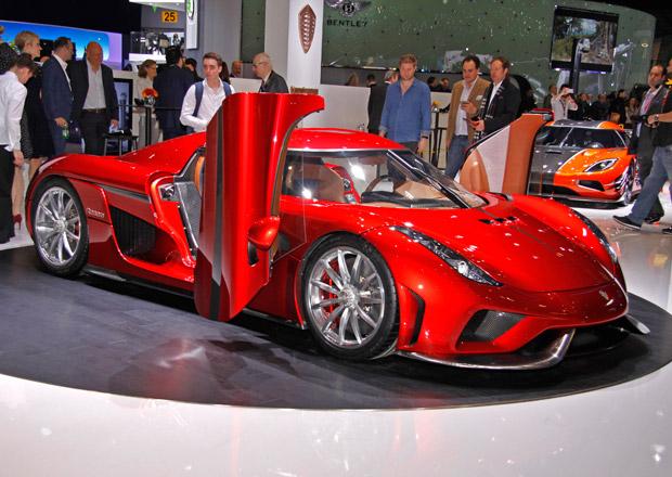 Koenigsegg Regera: Produkční verze má přes 1500 koní