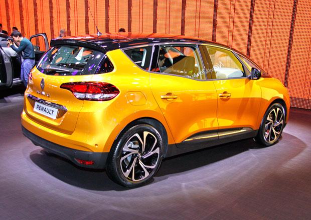 Nový Renault Scénic vypadá jako crossover, ale stále jde o MPV (+video)