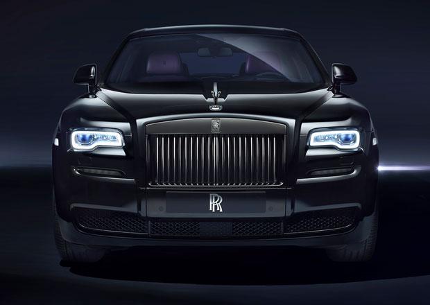 Rolls-Royce Ghost a Wraith Black Badge: Černí duchové