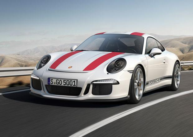 Porsche 911 R: P�t stovek atmosf�rick�ch kon� s manu�lem