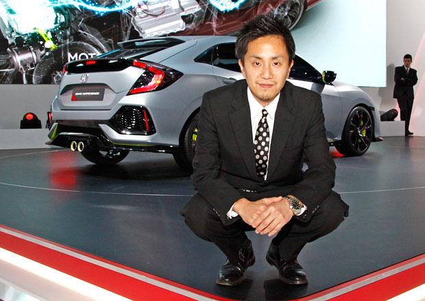 Šéfdesignér nové Hondy Civic: Sériová verze bude stejná jako prototyp