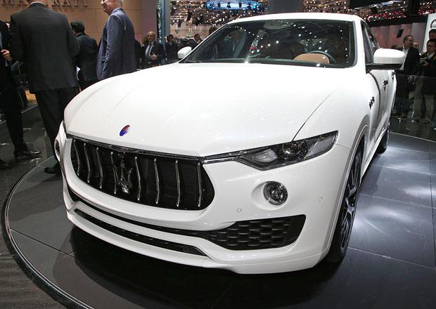 Maserati Levante musíte vidět naživo, pak se vám z něj nebude chtít vystoupit