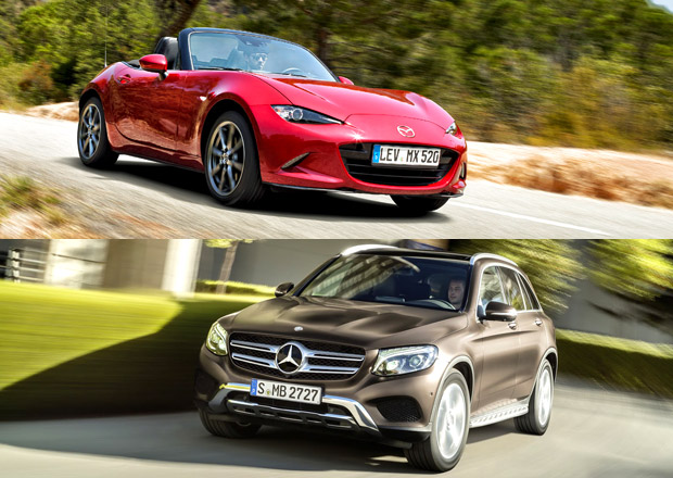 WCOTY 2016: O titul se utkají Audi A4, Mazda MX-5 a Mercedes-Benz GLC