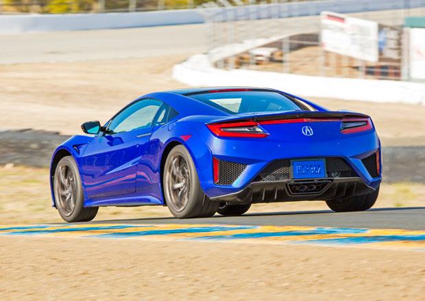 Honda NSX: V Evropě dražší, než Porsche 911 Turbo
