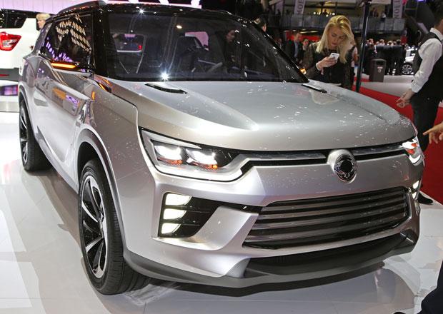 SsangYong SIV-2: Nov� p�edobraz st�edn� velk�ho SUV