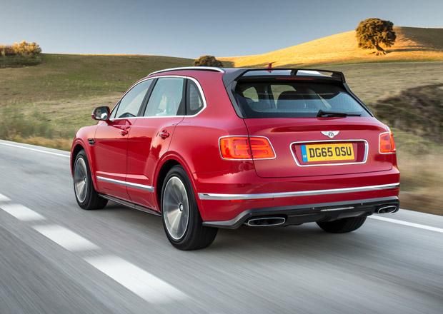 Bentley chce zv�it v�robu SUV Bentayga, nejdra���ho SUV na sv�t�