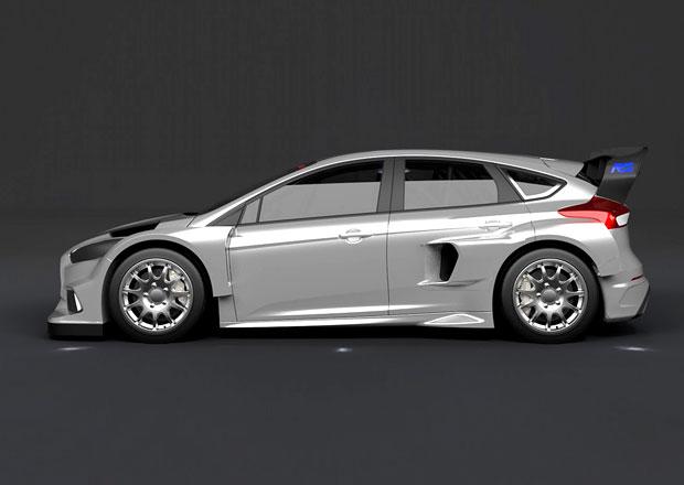 Ford Focus RS m��� na rallycrossov� okruhy