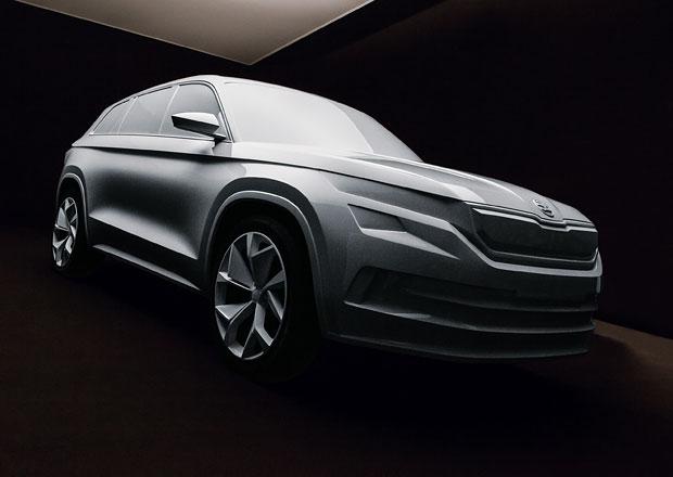 Škoda v Mladé Boleslavi vystavuje model VisionS, váží přes tři tuny