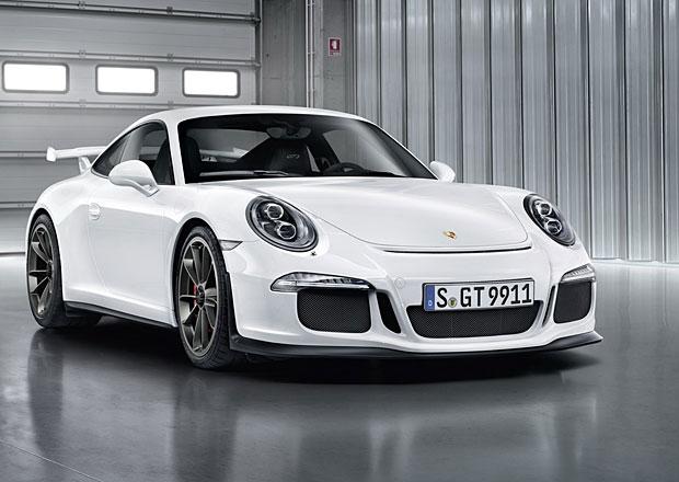 Porsche 911 GT3 dostane atmosférický motor a šestistupňový manuál