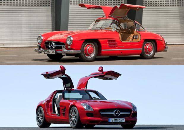 Na křídlech racka aneb netradiční nástup do Mercedesů