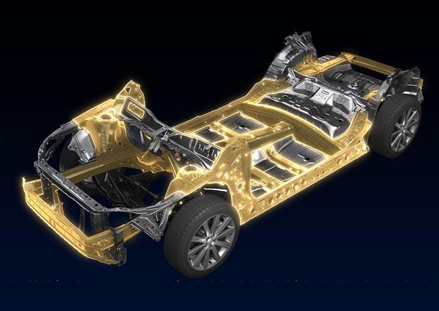 Subaru p�edstavuje novou platformu, bude pro v�echny modely